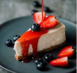 NY Cheesecake con frutos del bosque