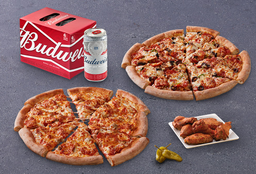 Bud & Pizza Partida Doble Familiar