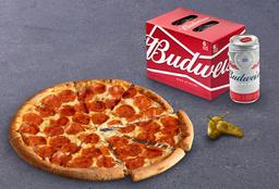 Bud y Pizza Clásica