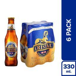 Cristal Cerveza - Botella X6