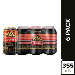 Cusqueña Cerveza Cusqueã'A Lata Negra