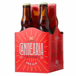 Cerveza Candelaria Red Ale Four Pk Bt