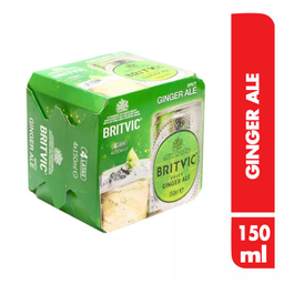 Four Pack Ginger Ale Britvic X 150 Ml