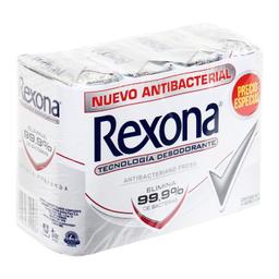 Jabón de Tocador Rexona Antibacteriano Fresh 84 g x 4