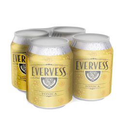 Fourpack Evervess Lata 237Ml