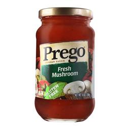 Salsa Para Pastas Prego Champiñones Frescos 396 g