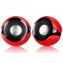 """Parlante 2.0 Zoom 2 Red S 402 R USB 2"""" RMS:10 W Micronics"""