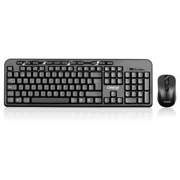 Kit Ebony Cyb T800 Teclado + Mouse Wifi Cybertel