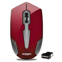 Mouse Ducatti Red Mic M717 Wifi Micronics