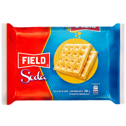 Galleta Soda Field Sixpack