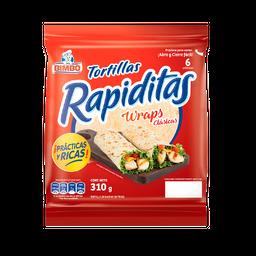 Bimbo Tortillas Rapiditas Wraps