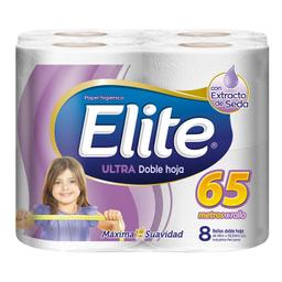Elite Papel Higiénico Ultra Doble Hoja X 8 U