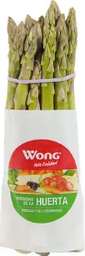 Wong Espárrago Verde Tipo Exportación Atado