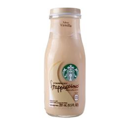 Milkshake Starbucks Frapuccino Vainilla 281 mL