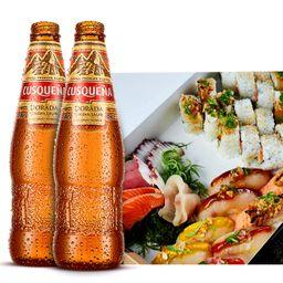 Shizen IV y 2 Cervezas