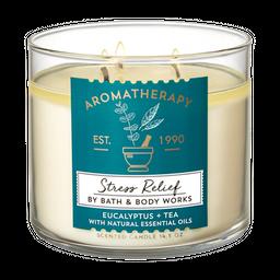Vela 3 Mechas Eucalyptus Tea
