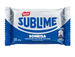 Sublime Sonrisa X 40Gr Nestle