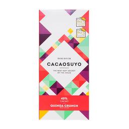 Cacaosuyo Tableta Chocolate Quinoacrunch