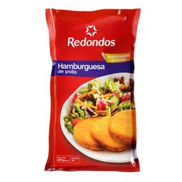Hamburguesa Redondos de Pollo Empanizados 14 U