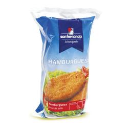 Hamburguesa San Fernando Super de Pollo 14 U