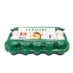 Huevo Blanco La Calera 15 U
