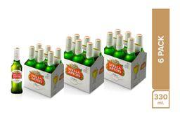 3 x Stella Artois Six Pack