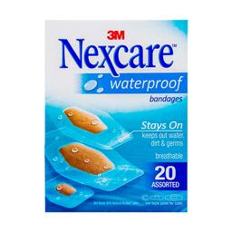 Nexcare Banditas Respirables Waterproof Surtidas
