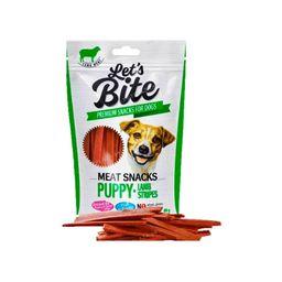 Brit Let'S Bite Meat Snacks Puppy Lamb Stripes 80 Gr