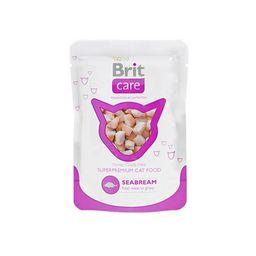 Brit Care Cat Seabream Pouch X 80G