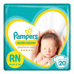 Pañal Pampers New Baby X20 Unidades
