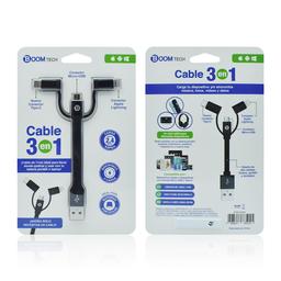 Cable Boomtech 3 en 1