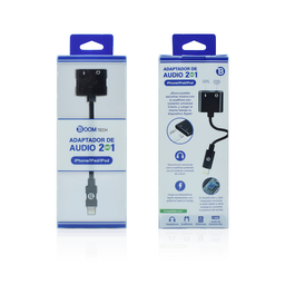 Adaptador Boomtech de Audio 3.5 mm Lightning