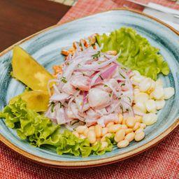 Ceviche Clásico y 2 Coronas