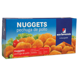 Comida San Fernando Nuggets de Pollo 24 U