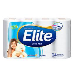 Elite Papel Higiénico Doble Hoja Aloe Vera