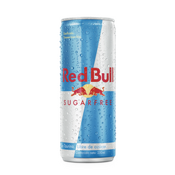 Lata Red Bull Sugar Free