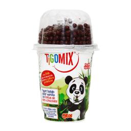 Yogurt Tigo Mix Vainilla Con Bolitas Sabor Chocolate 125 g