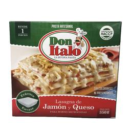 Lasagna de Jamon y Queso 350 g
