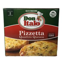Pizzeta 4 Quesos 220 g