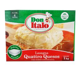 Lasagna 4 Quesos 1 Kg