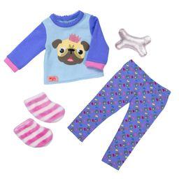 Outfit Pijama Bulldog