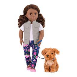 Muñeca Deluxe Malia Con Perrito
