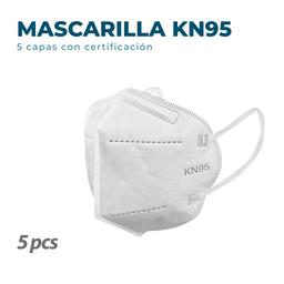 5 Mascarillas KN95