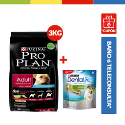 Promo Proplan Adult Dog Small Breed 3Kg (69118)