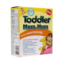 Galleta De Arroz Banana X 50 Unidades Toddlermum