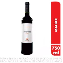 Vino Finca El Portillo Malbec Botella 750Ml