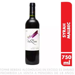 Vino Fuzion Syrah-Malbec 750 Ml