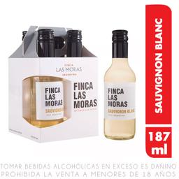 Finca Las Moras Vino Las Moras Blanco Pack 4 Botellas