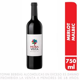 Vino Moravista Malbec Merlot X750Ml