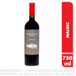 Vino Tinto Santa Julia Malbec Reserva 750 mL